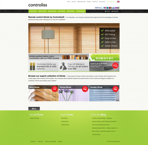 Remote Control Blinds by Controliss