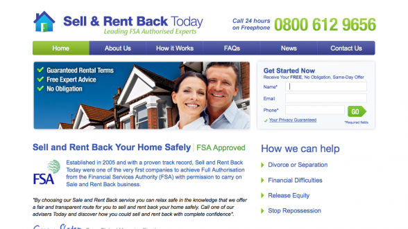 Sell And Rent Back Today